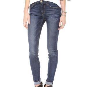 Current Elliott Sandy High Waist Skinny Jeans
